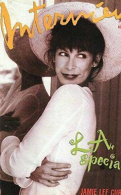 Interview August 1989 Jamie Lee, Sandra Bernhard, Tatjana Patitz, Kirsten Owen