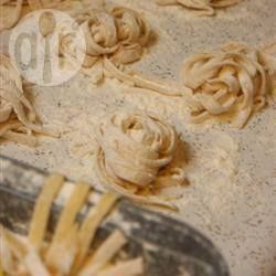 Homemade Semolina Egg Pasta