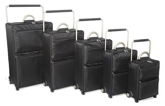 http://airlinepedia.net/lightest-luggage.html The lightest luggage cases and sets on the planet. Assessments of the best manufacturers of extremely light luggage cases and bags from actual users. Sub Zero G Worlds Lightest Luggage Set of 5