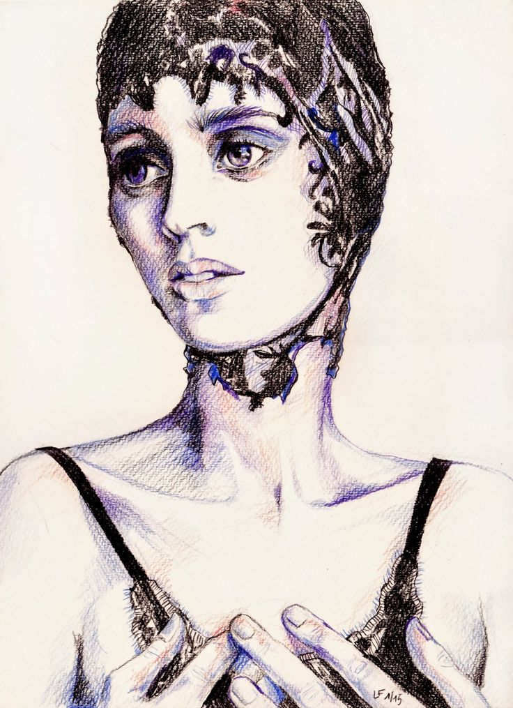 Linda Förstner ARTWORK: Rooney Mara Portraits
