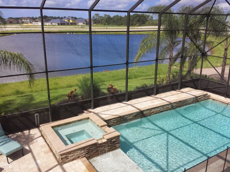 63 best new homes with community swimming pools private for Pool design tampa florida