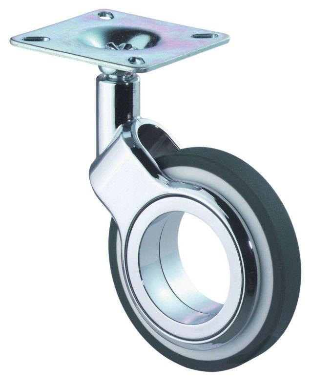 Design Lenkrollen Mit Anschraubplatte Design Stahlblech Mobel