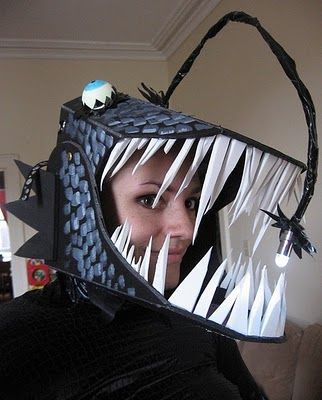Anglerfish costume - you know, the terrifying fish from Finding Nemo  :]