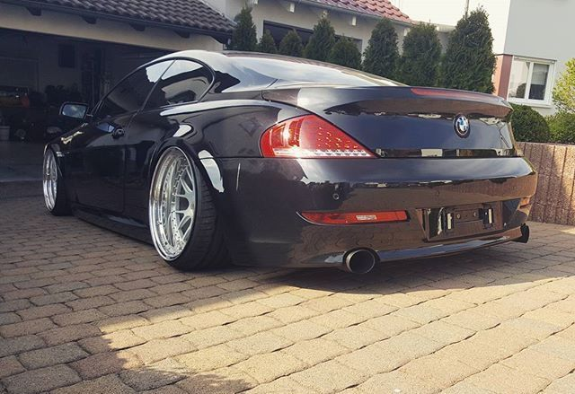 #BMW_E63 #Modified #Bagged #AirLift #Slammed #Stance #Static #Fitment #3SDM_Wheels