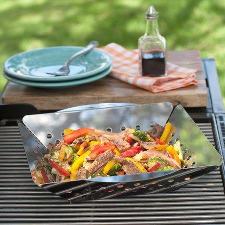 Tilbered herlige grønnsaker på grillen!