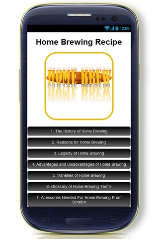 Homebrewing is the brewing of beer, wine, sake, mead, cider, perry and other beverages through fermentation on a small scale as a hobby for personal consumption, free distribution at social gatherings, amateur brewing competitions or other non-commercial reasons. Both alcoholic and non-alcoholic beverages can be made at home.<p>Here's a list of topics our Home Brewing Recipe app contains:<p>- The History of Home Brewing <br>- Reasons for Home Brewing<br>- Legality of Home Brewing<br…