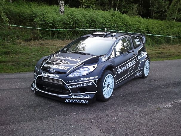 Ford Fiesta RS WRC Nick Moores Baby