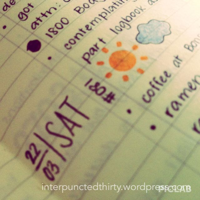 Six months of bullet journalling. Read it on my blog