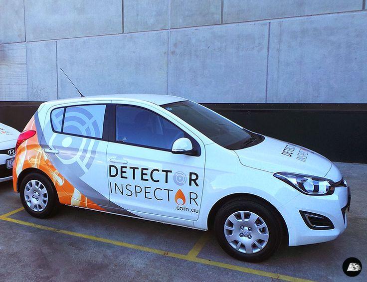 Detector Inspector Hyundai i20   Fleet Graphics #AutoSkin #driveyourbrandhome