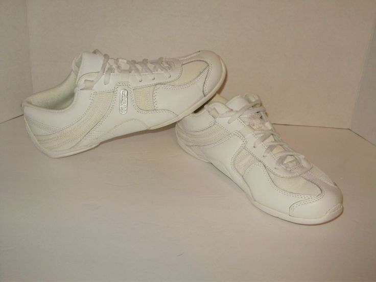 Kaepa Starlyte 6560 Cheer Cheerleading Shoes Size 7.5 White Leather New A44  #Kaepa #LowTop