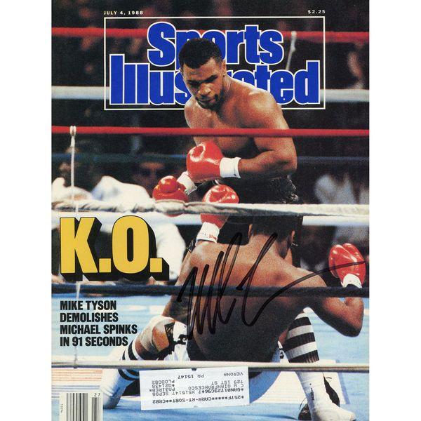 Mike Tyson Fanatics Authentic Autographed Sports Illustrated KO Magazine - $164.99