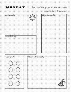 Free Bullet Journal Printables Bullet Journal Inspiration Pinterest