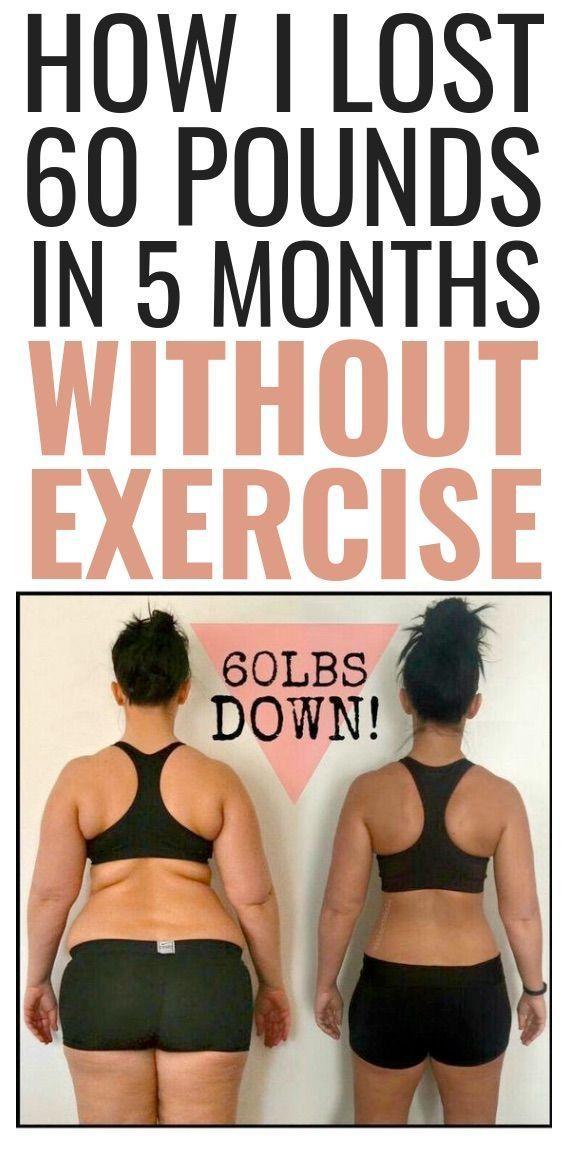 Weight Loss Advice von einer 48-jährigen Frau, die in 5 Monaten über 60 Pfund abgenommen hat, ohne anstrengende Workouts zu absolvieren