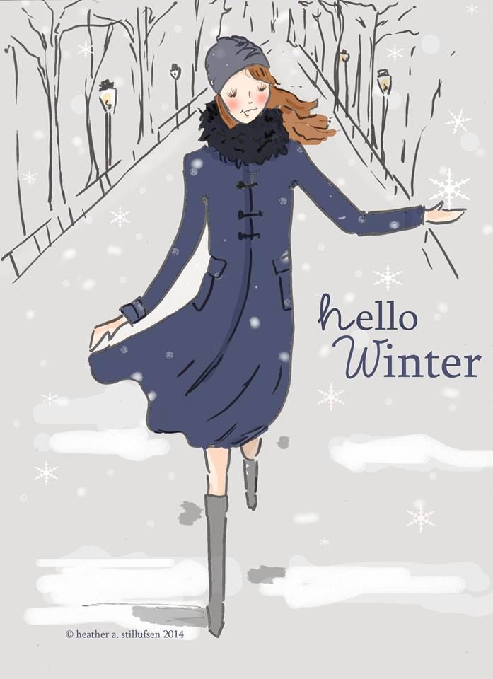 Hello Winter!!!! Rose Hill Design Studio by Heather Stillufsen on Facebook and Etsy