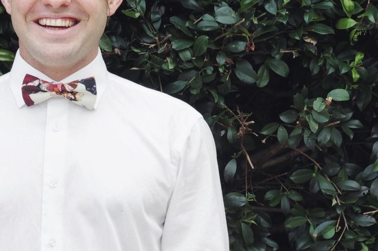 Saturday night outfit sorted? Add a bow tie... #krewandco