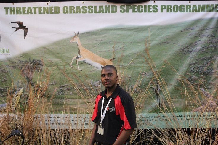 Jiba Magwaza of the Endangered Wildlife Trust