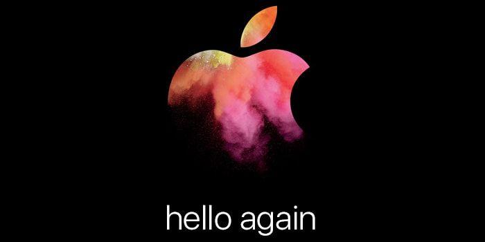Apple Event keynote 27 de octubre hello again - presentación Macbooks Pro o Air y iMac http://iphonedigital.com/apple-keynote-27-octubre-presentacion-macbook-imac-apple-event/ #iphone #apple