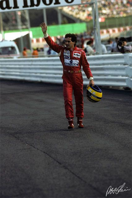 Ayrton Senna GP Giappone 1993