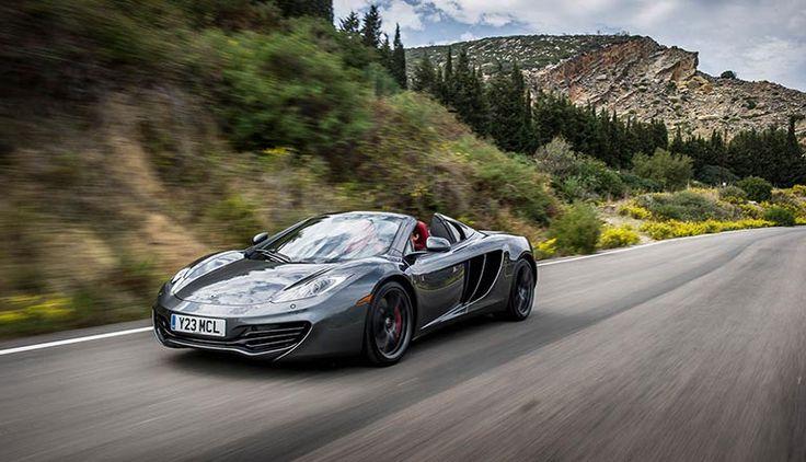 McLaren recalls MP4 12-C Spiders and Coupes