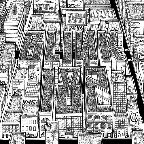 blink-182 'Neighborhoods' by Mike Giant (REBEL8)