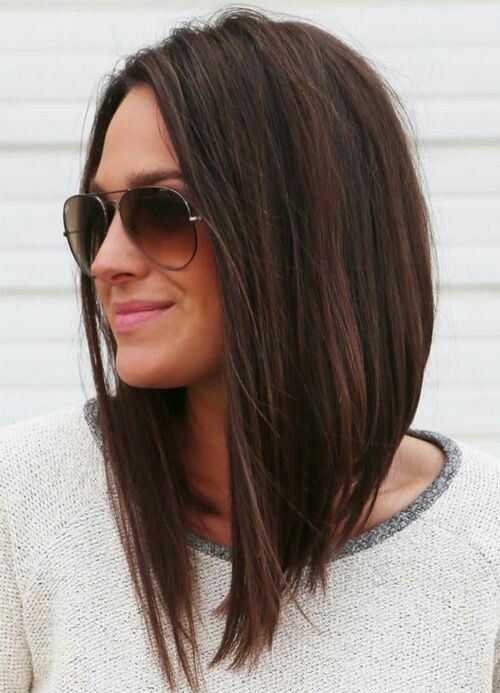 Long A Line Hair Ideas