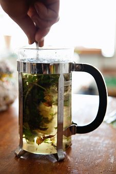 Love using a french press for loose tea.