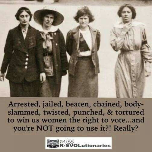 1st Wave Feminism: Suffragettes on the march---Vote, Ladies!