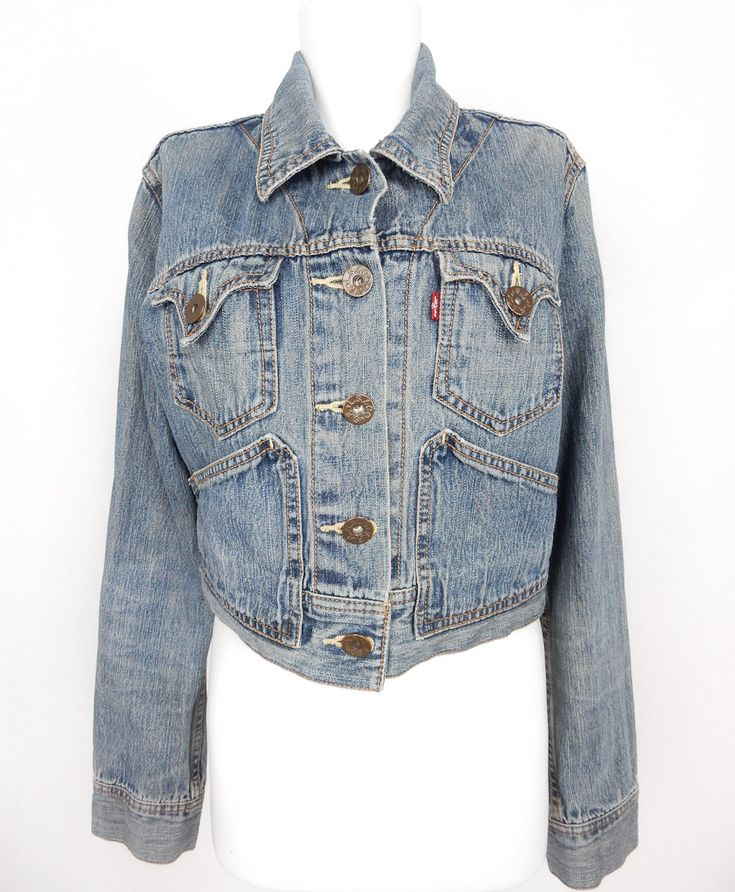 Vintage Levi's Crop Denim Jacket