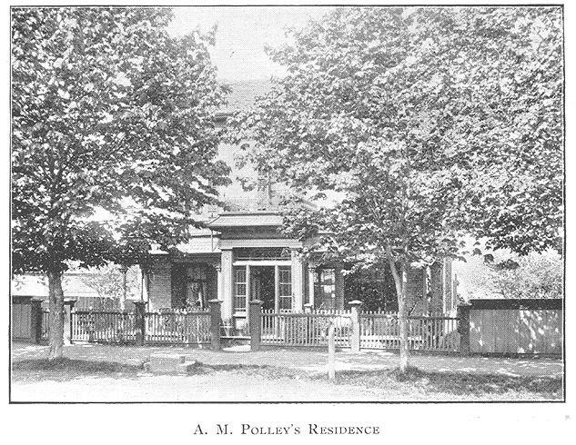 Polley Residence, Goderich, Ontario c.1897 #Goderich #RediscoverGoderich #VintageGoderich