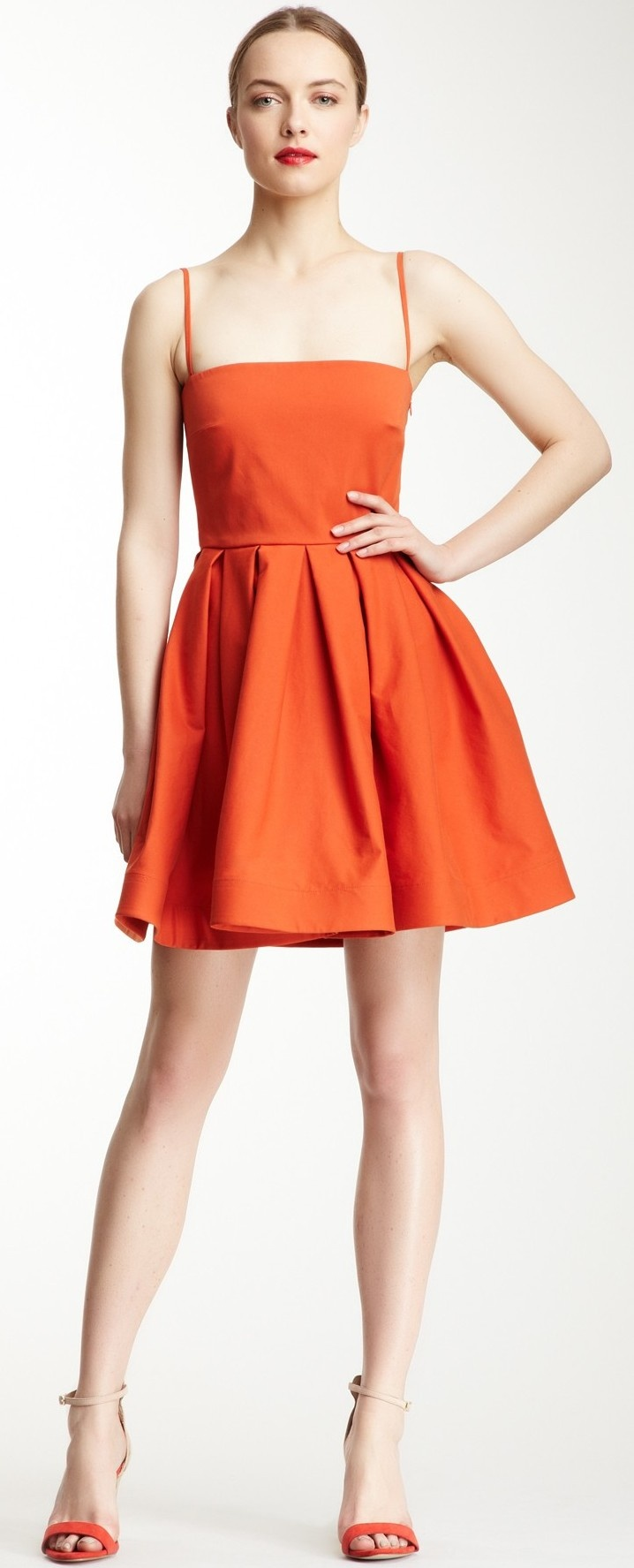 RED Valentino Pleated Dress ♥✤ | Keep the Glamour | BeStayBeautiful