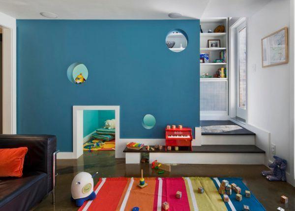 Pentru ca vine toamna, ne-am gandit sa va prezentam cateva idei despre cum puteti decora camera copilului.
