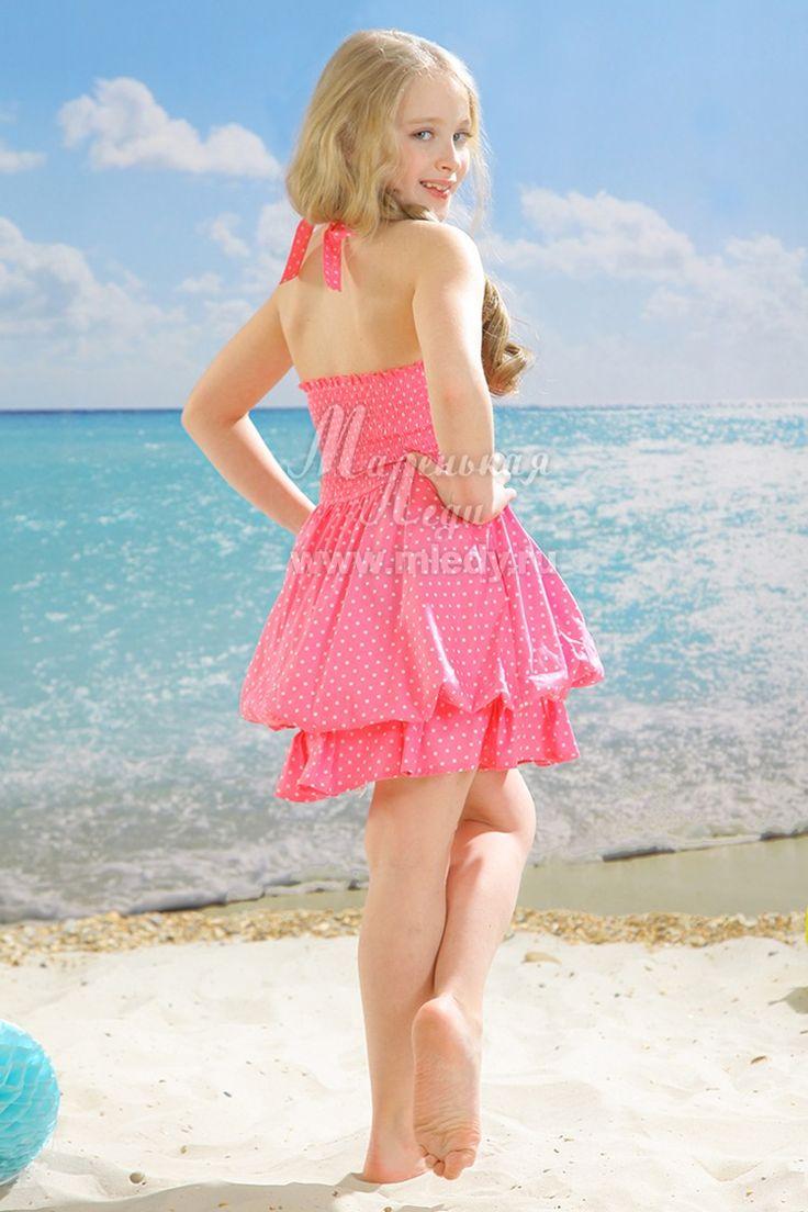 Сарафан, розовый горошек, 723/1-315-41, за 2760 руб, фото 2