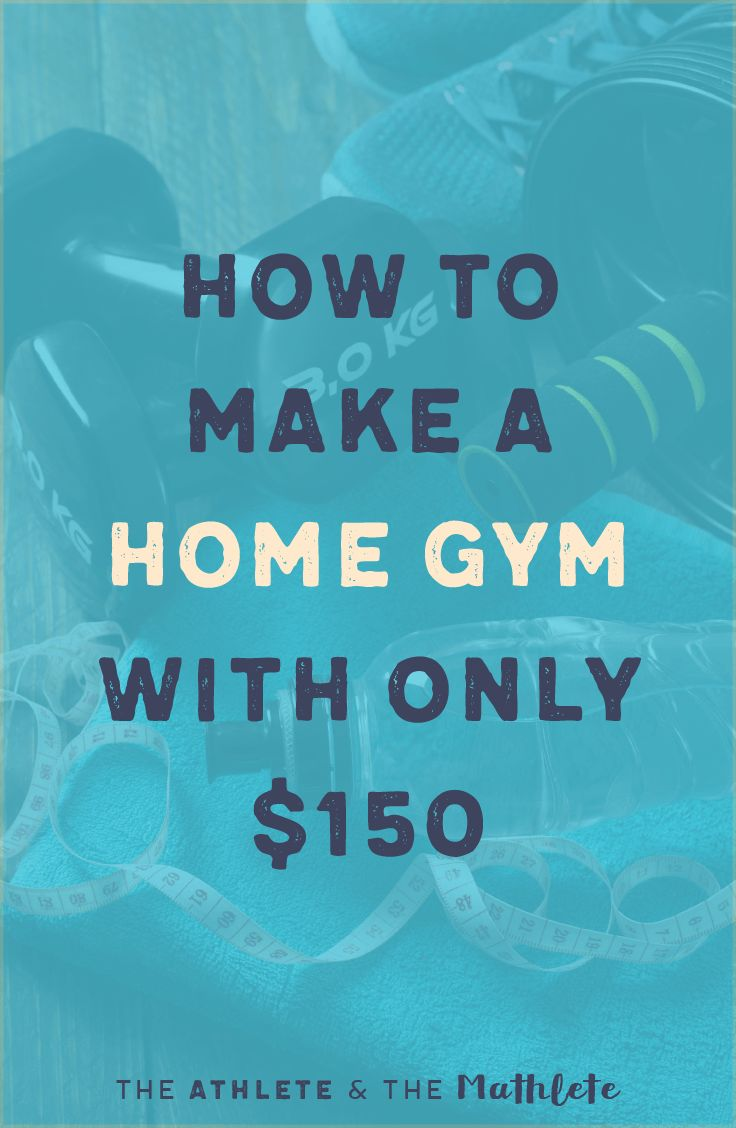 Staying fit isn't cheap. Instead of spending all your money on fitness, invest in a small home gym. For under $150 and five items, even the smallest apartment can replace your pricey fitness facility. Click through for a step-by-step guide to getting your dream home gym!