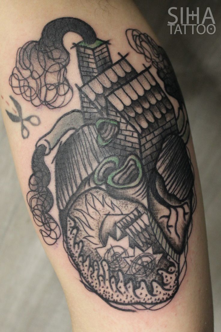 Heart Home by Tayri Rodriguez at Siha Tattoo