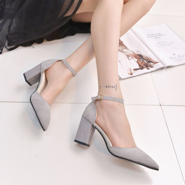 Daily Sale $12.96, Buy Shoes Woman 2016 New High Heels Ladies Pumps Sexy Thin Air Heels Footwear Woman Shoes zapatillas mujer sapato feminino chaussure
