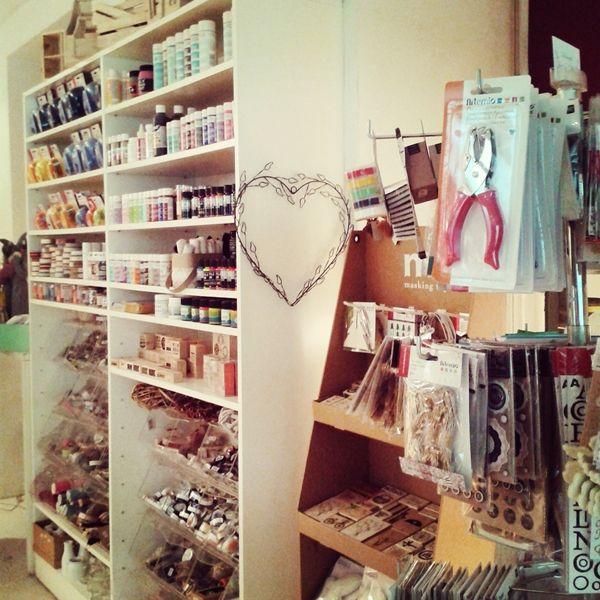 Delipapel, craft shop  Madrid, guía express Madrid city guide