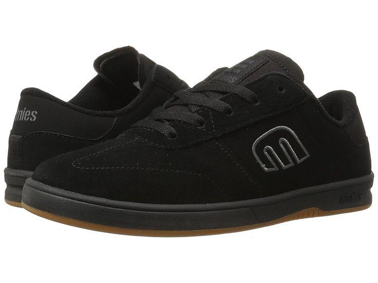 etnies Lo-Cut Men's Skate Shoes Black/Red/Gum