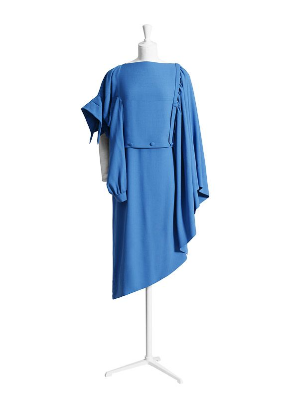 Margiela for H&M: hellblaues Kleid
