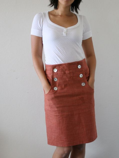 Free printable skirt from Burda. I want to make one asap!