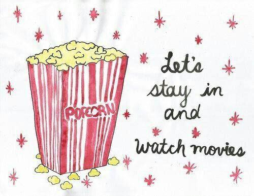Relaxing occupation - films kijken