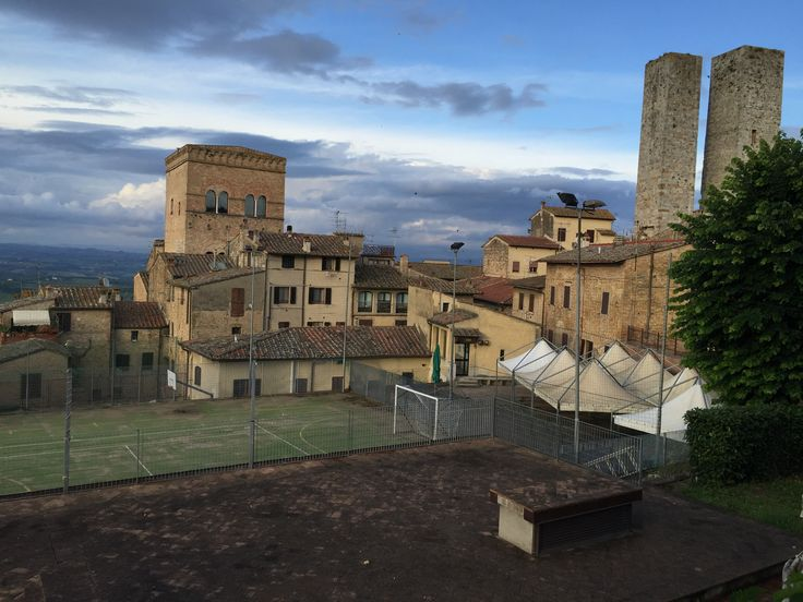 There's a football field in any place in Italy