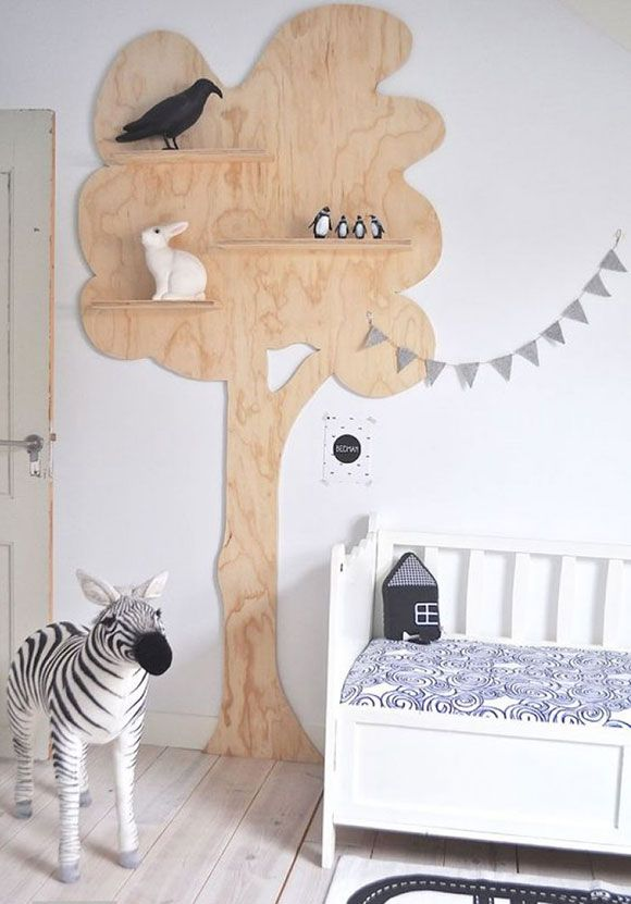 Decoratie Muur Kinderkamer.Plywood Of Simpel Gezegd Triplex In De Kinderkamer Baby