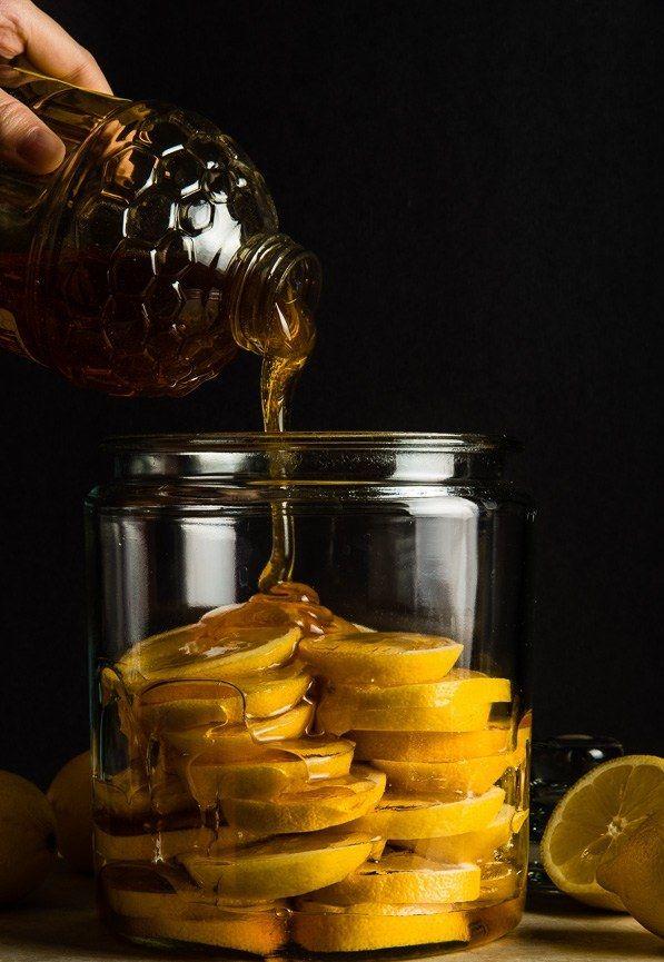 Cytryna marynowana w miodzie - herbata jakiej nie piłaś nawet u babci