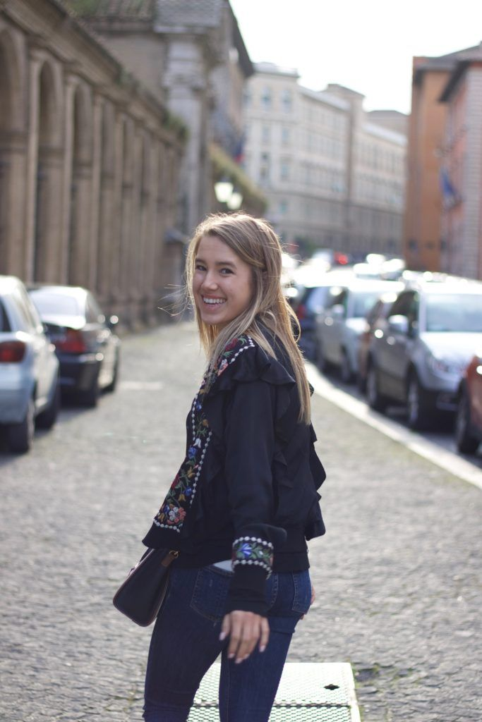 Rome, Italy // Street Style // Snapped by Gracie