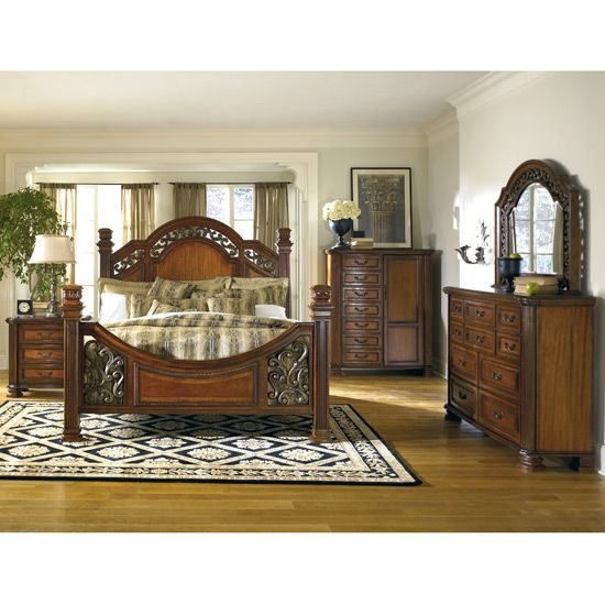 Ashley Home Furniture Bedroom Sets   Corona Park Bedroom Set by Ashley  Furniture  b607 set  Furniture XO   Projects to Try   Pinterest. Ashley Home Furniture Bedroom Sets   Corona Park Bedroom Set by