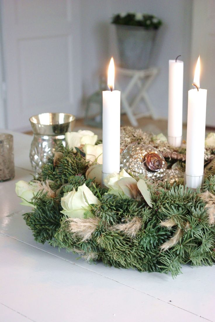100 christmas candle centerpieces 17117 christmas candle w