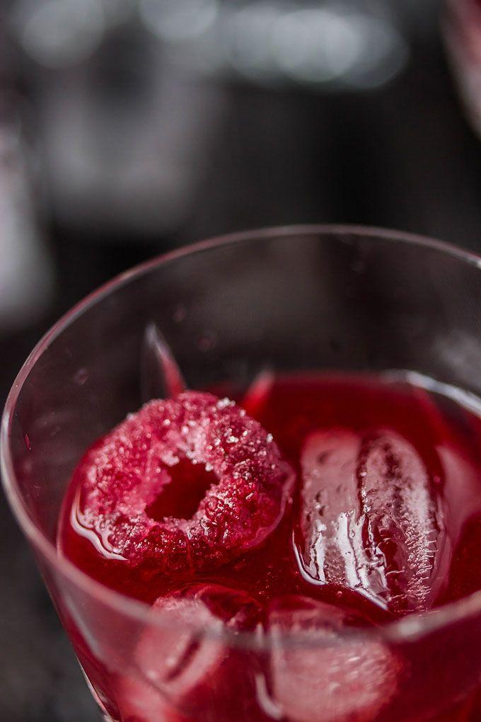 Homemade Raspberry Liqueur Elixir | http://cookswithcocktails.com/homemade-raspberry-liqueur-elixir/