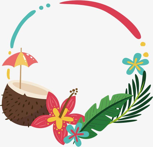 O Leite De Coco Vector Png Summer O Leite De Coco Imagem Png E Psd Para Download Gratuito Tropical Illustration Art Impressions Cards Coconut Vector