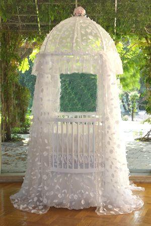 parisian round crib bedding sets white french lace