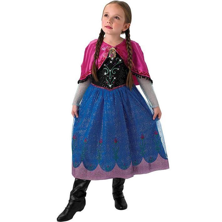 Disfraz Anna Frozen con luz y música para niña